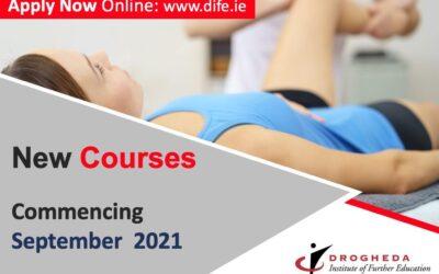New Programmes 2021