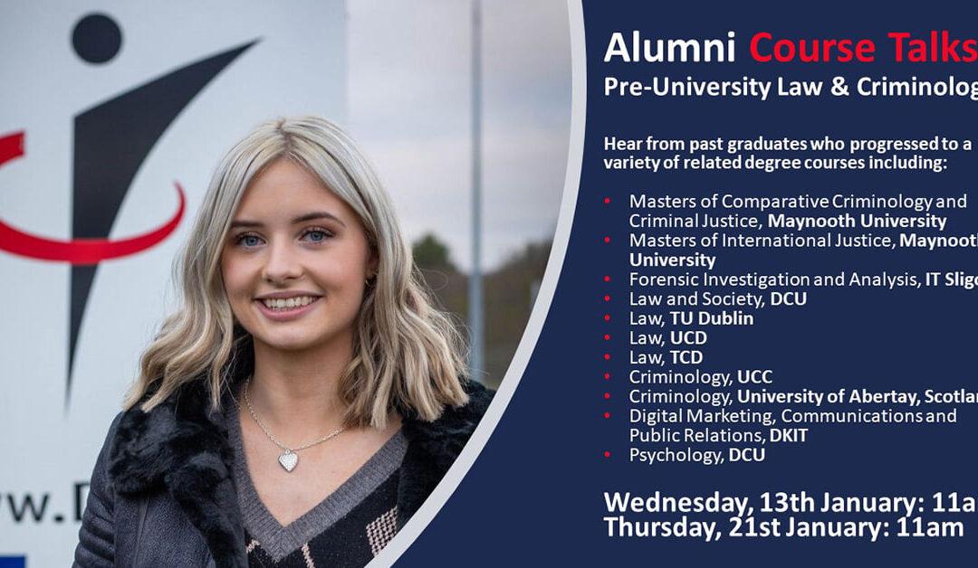 Alumni Course Talks