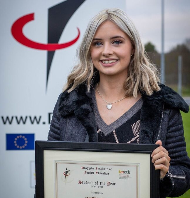 Drogheda Institute Student of the Year 2020